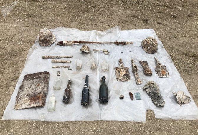 Retour vers le passé à Cormicy (51): des objets de soldats de la guerre 14-18 refont surface