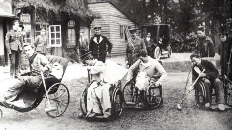 1139/15 septembre 1917: les jeux paralympiques : un héritage de la grande guerre