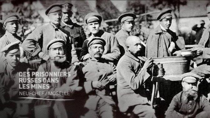 (vidéo) Des prisonniers russes dans les mines