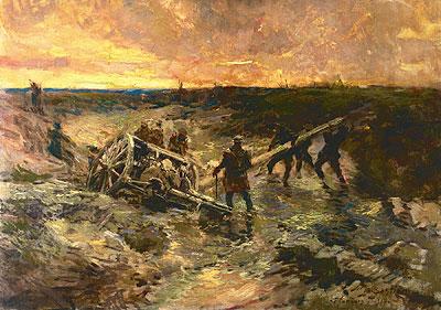 1144/20 septembre 1917:le cimetière militaire provisoire français du parc du château de Soupir (Aisne)