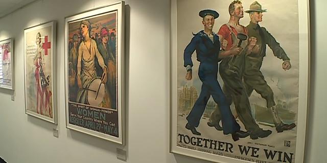 «Wake up, America !», les affiches américaines de la Grande Guerre exposées à Reim