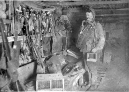 1150/26 septembre 1917 : une attaque par gaz dans les mines de Béthune