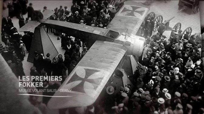 (Vidéo) Les premiers avions  Fokker