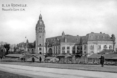 1168/14 Octobre 1917: (vidéo) Les Américains à La Rochelle