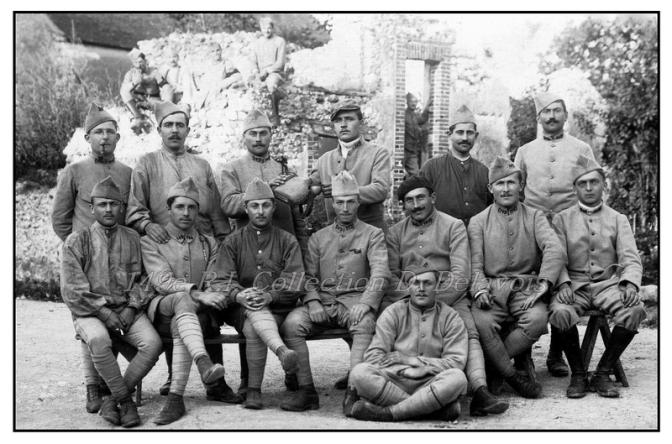 1149/25 septembre 1917: avant l'attaque de La Malmaison (Aisne)