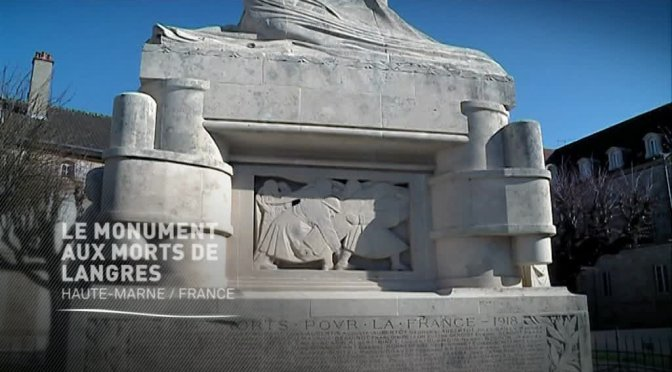 Le monument aux morts de Langres … le nu à peine voilé qui a choquéi