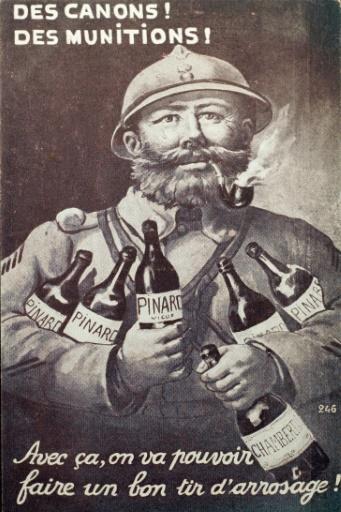 Le vin en 14-18, indispensable compagnon du Poilu