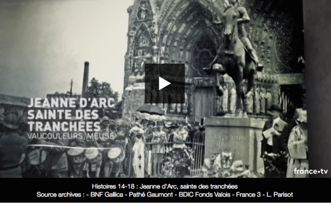 Jeanne d'Arc, sainte des tranchées