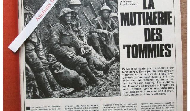 1158/4 octobre 1917: mutinerie à Etaples (Pas-de-Calais)
