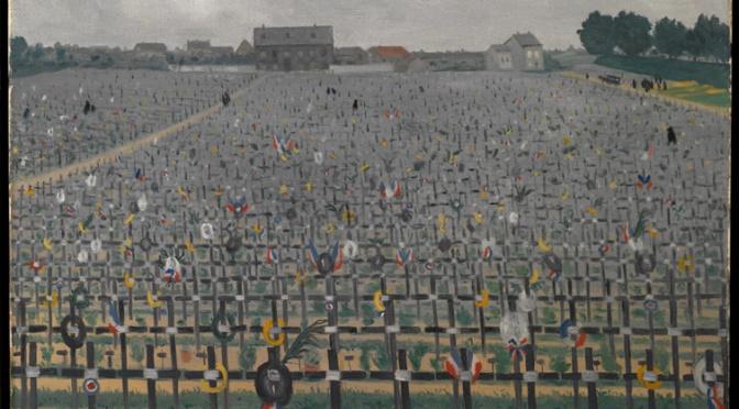 1213/28 novembre 1917: Vallotton termine un tableau à Châlons-sur-Marne