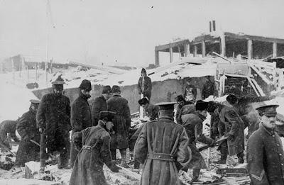 1221/6 décembre 1917: L'explosion de Halifax fait près de 2.000 morts