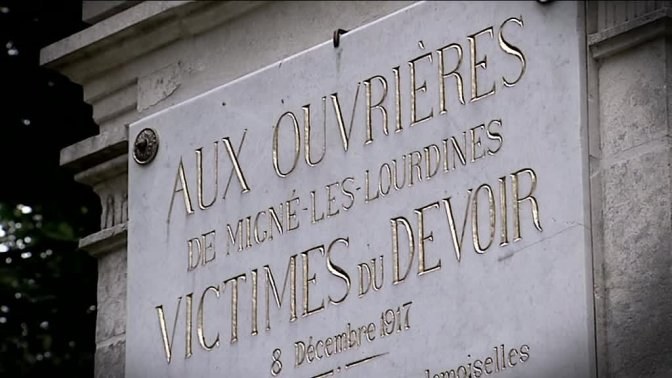1223/8 décembre 1917: le drame de Lourdines: 20 ouvrières tuées