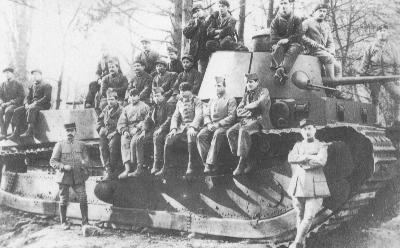 1225/10 décembre 1917: premiers essais du char 1A