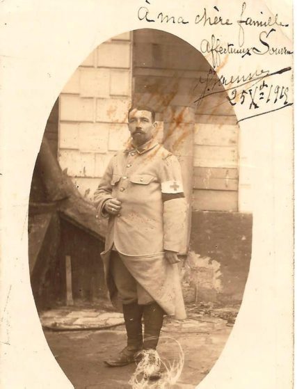 1245/30 décembre 1917: mémoires de guerre d'un brancardier poète Joseph Ravenne