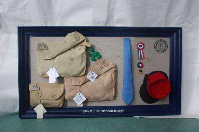 Stenay (Meuse) : les musettes de 1918 sont en vente