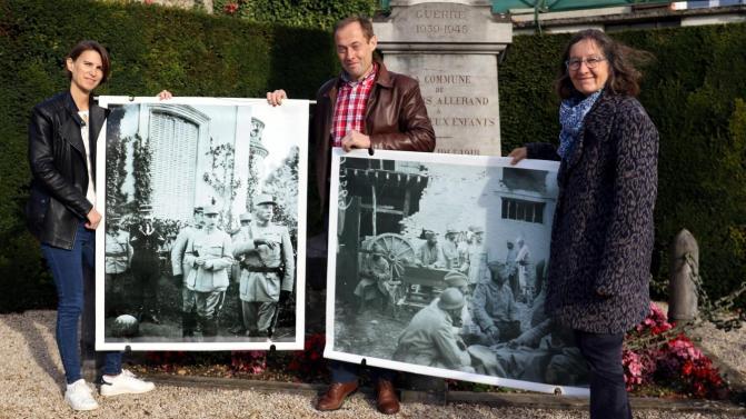 Pétain à Villers-Allerand (Marne) en avril 1917 : des photos inédites retrouvées
