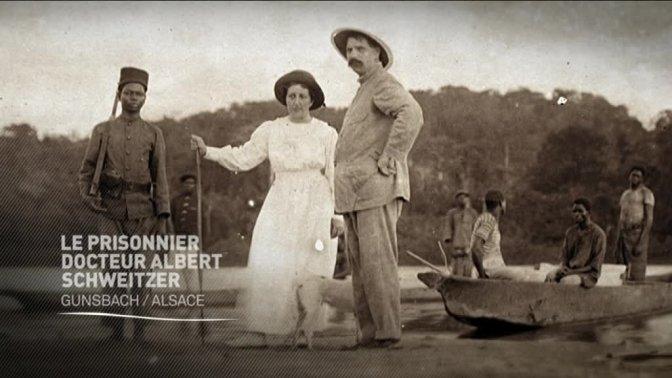 (vidéo) Le prisonnier docteur Albert Schweitzer