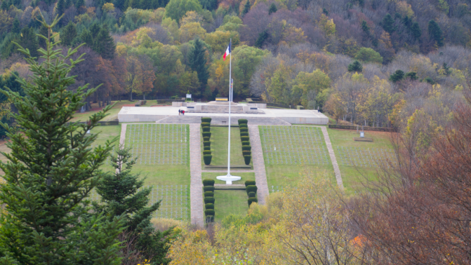 Vendredi 10 novembre cérémonie franco-allemande au Hartmannswillerkopf