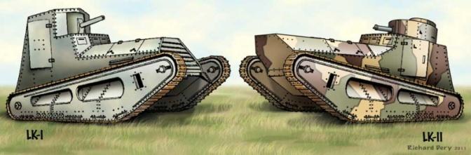 1263/17 janvier 1918: les Allemands veulent des chars légers