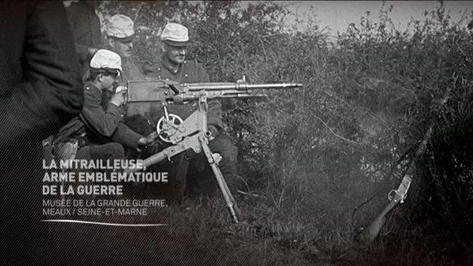 (Vidéo) La mitrailleuse, arme emblématique de la guerre
