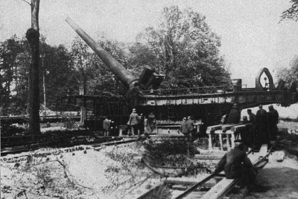 1276/30 janvier 1918: La canon de Paris bombarde la capitale