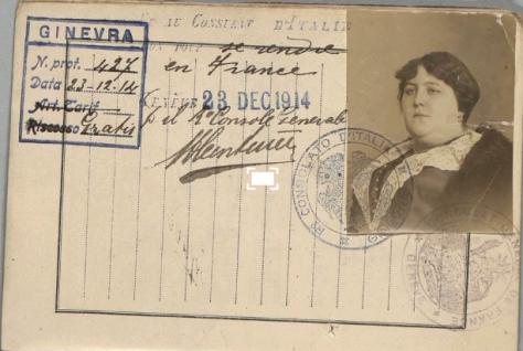 1251/5 janvier 1918: (suite) Une Genevoise fusillée pour espionnage