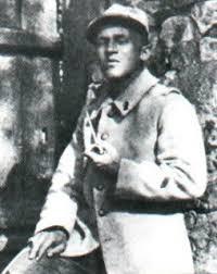 1280/3 février 1918; Blaise Cendras écrit «J'ai tué «dans «la main coupée»7