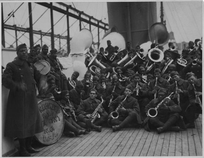 1289/12 février 1918: (vidéo)Premiers concerts de jazz à Saint-Nazaire et Nantes