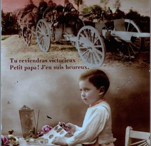 1247/1 janvier 1918: lettre du poilu Augustin Astruc