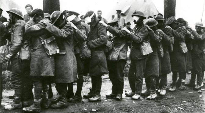 1283/6 février 1918: la Croix rouge contre l'emploi des gaz vénéneux