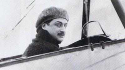 1292/15 février 1918: prisonnier, l'aviateur Roland Garros parvient à s'échapper