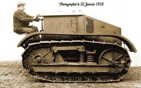 1271/25 janvier 1918: Renault pense à un véhicule pour l'agriculture