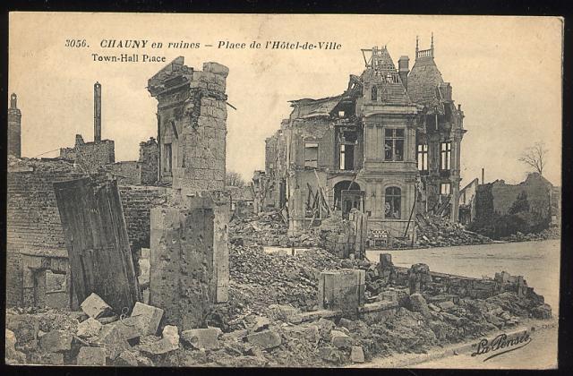1336/31 mars 1918: Mars 1918 à Chauny (02)
