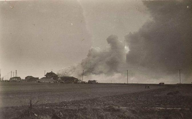 1320/15 mars 1918: explosion de l'usine de grenades de La Courneuve