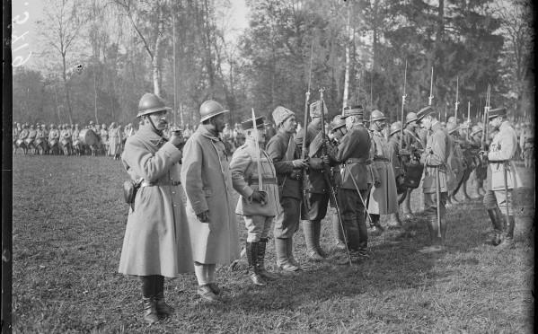 1312/7 mars 1918: la Légion russe incorporée dans la 1ère division marocaine