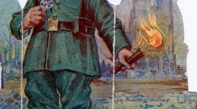 (7)Carnets du Rémois Louis Guédet (29 septembre-27 novembre 1914): Les Allemands avaient-ils prémédité l'incendie de la Cathédrale ?