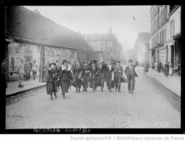 1319/14 mars 1918: les ouvrières tourangelles en grève