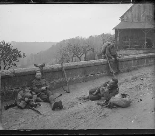 1342/6 avril 1918:combats dans la forêt de Coucy (02)