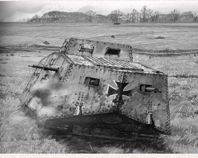 1360/24 avril 1918: premier combat mondial entre chars à Villers-Bretonneux  ( Somme)