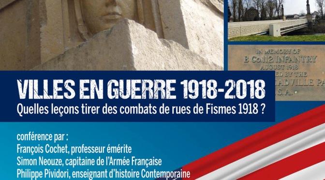 Ce soir à Sciences Po (Reims) conférence dans le cadre de Fismes Mémorial