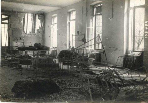 1347/11 avril 1918: Paris:un obus dans la maternité Baudelocque