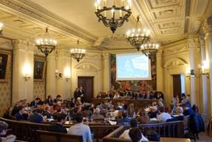 Cent ans après, le conseil municipal de Reims à nouveau réuni à Paris !