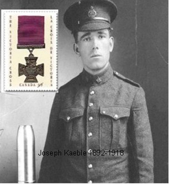 1405/8 juin 1918: la croix Victoria pour Joseph Keable, un héros canadienjcanadienj