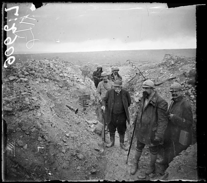 1433/6 juillet 1918: un bouquet pour le Tigre en Champagne