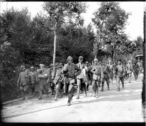 1442/15 juillet 1918: l'offensive allemande en Champagnei
