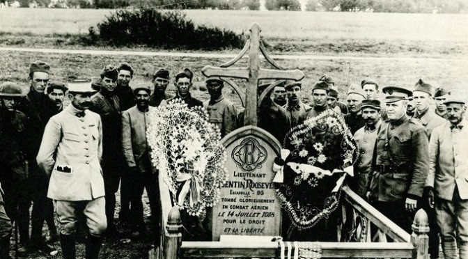 1441/14 juillet 1918: le fils Roosevelt tué en vol à Chamery (Marne)