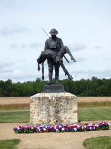 1453/26 juillet 1918: en l'honneur de la 42 ème armée américaine à la ferme de la Croix-Rouge