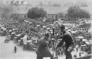 1465/7 août 1918: les Allemands quittent le fort de Condé (Aisne)