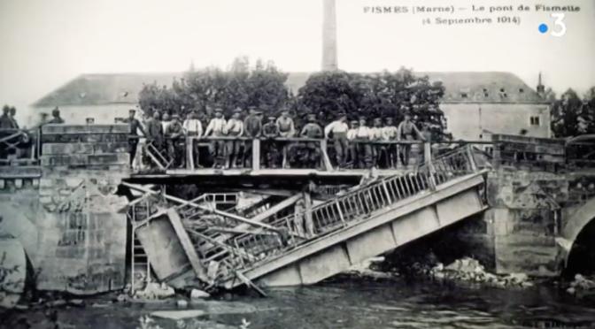(Vidéo) guerre 14-18: l'histoire singulière du pont de Fismes
