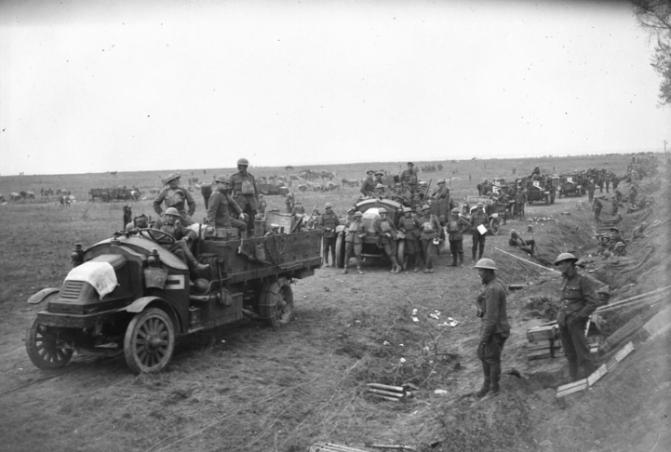 1490/1 septembre 1918: les Canadiens àl'assaut de la Ligne Hindenburg